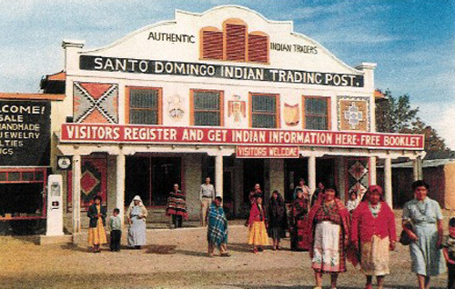 Santo Domingo Trading Post - Historic