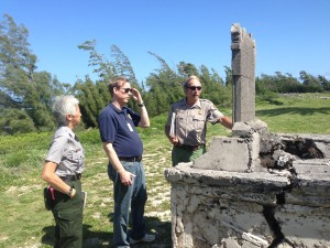 NCPTT consults with Kalaupapa National Historical Park.