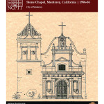 Deterioration and Preservation of Porous Stone Royal Presidio Chapel, Monterey, California (1996-04):