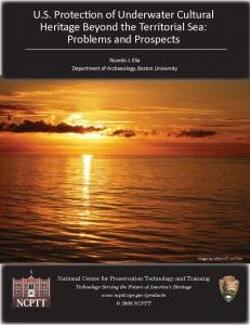 US Protection of Underwater Cultural Heritage Beyond the Territorial Sea: Problems and Prospects - Document Cover