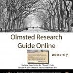 Olmsted Research Guide Online (ORGO) - Document Cover