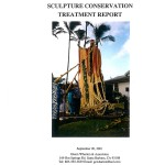 Kamehameha I Sculpture Conservation Treatment Report (2001-12):