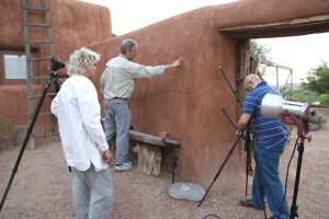 RTI imaging at the Abiquiu front gate.