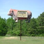 Sign on 371 near MInden, LA