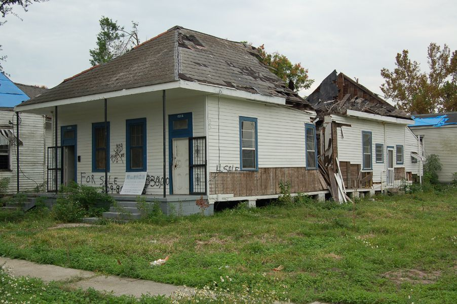 9th Ward Damage after Hurricane Katrina