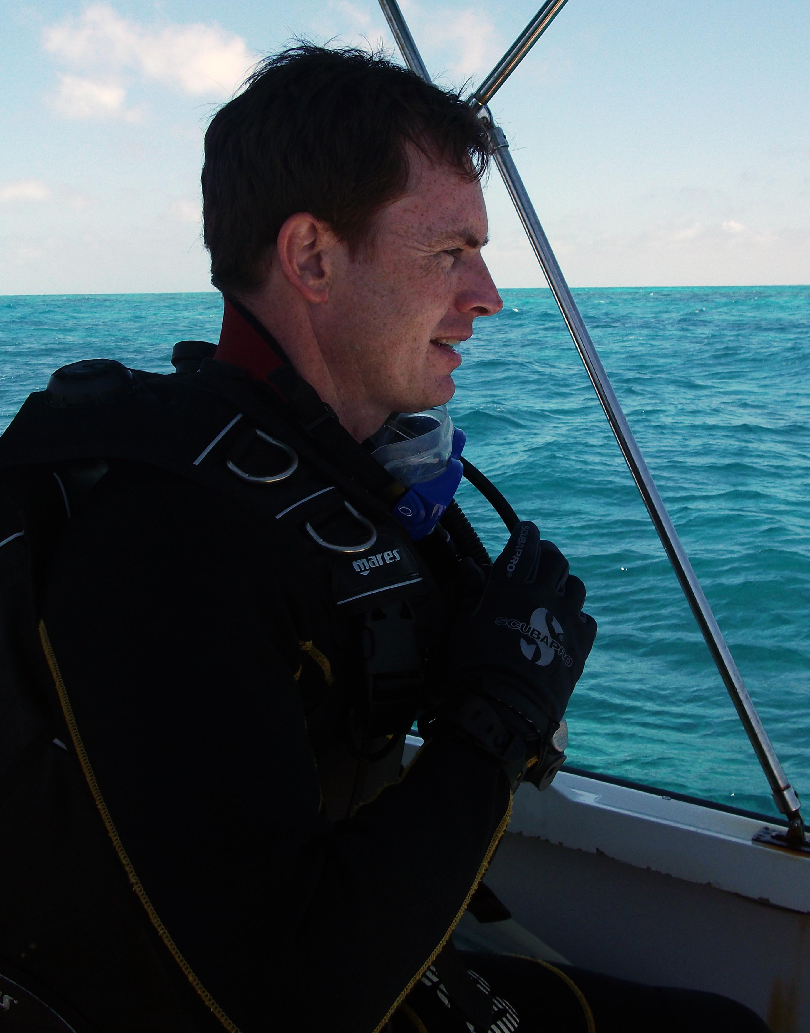 David Morgan Diving at Biscayne National Park