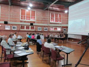 NCPTT was the perfect venue for presentations and panel discussions.