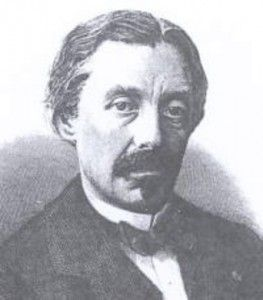 Léon Foucault discovered eddy currents in 1851. Image courtesy of Wikipedia.