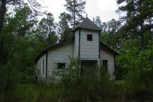 Abandoned Church Lime Kiln Rd. Natchitoches