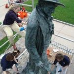 Our Rule of Three: Producing a Video on Statue Conservation: