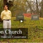 Resetting a Stone Grave Marker (2007-02):