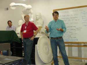 Kirk Cordell and Andrew Ferrell lead a discussion on preservation trades.