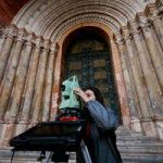 Recording the Metropolitan Cathedral of Cuenca (Ecuador, 2008). Photo courtesy of SMARTdoc.