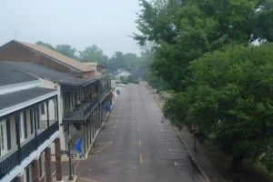 Streetscape of Front Street in Natchitoches, LA