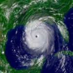 Hurricane Katrina, August 28, 2005. Photo: NOAA.