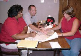 Loranger, La. teachers work on Heritage Education  Paul Stuker, along with Angel White of Ferriday Junior High (left) and Susan Lambert of West Feliciana Middle (right), participated in the development of Heritage Education – Louisiana. (Photo: File)