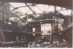 Nelson Hall: Aftermath of 1997 fire