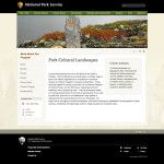 NPS Park Cultural Landscapes Program: Engaging people via social media
