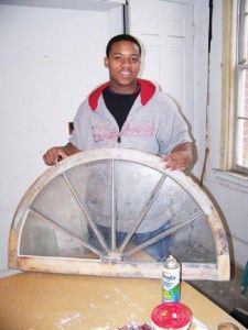 Randolph CTC students learn to restore historic wood windows