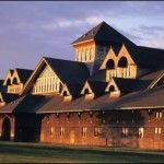 The Breeding Barn at Shelburne Farms National Historic Landmark, in Shelburne, VT, was visited by colloquium participants.