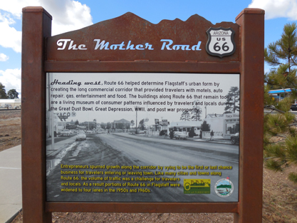 Flagstaff Route 66 Rest Area Interpretive Project