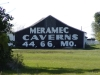 Pontiac (near), Illinois - Meramec Caverns Barn Billboard