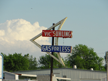 Vic Suhling Neon Sign Restoration - Before