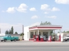 Moriarty, New Mexico - Whiting Brothers Gas Station