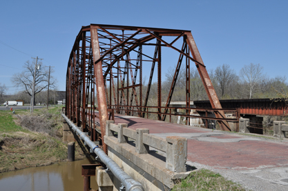 Rock Creek Parker Truss Bridge Restoration - Before