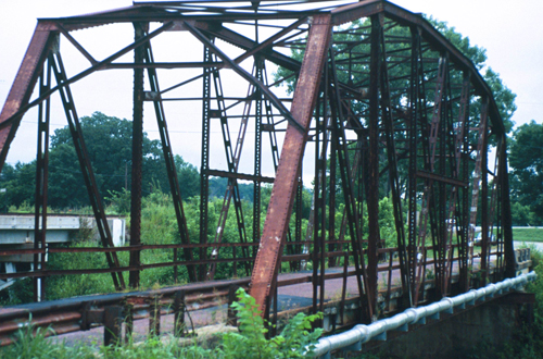 Rock Creek Parker Truss Bridge Restoration - After