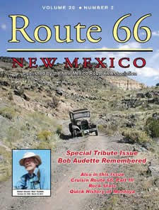 Route 66 New Mexico Magazine, from the New Mexico Route 66 Association http://www.rt66nm.org/