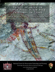 Effect of Water on Lower Pecos River Rock Paintings in Texas - Document Cover