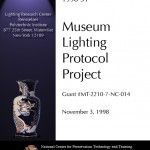 Museum Lighting Protocols (1998-31):
