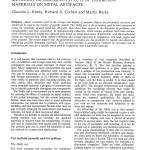 Electrochemical Tests as Alternatives to Current Methods for Assessing Effects of Exhibition Materials on Metal Artifacts  (1998-39):