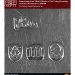 Non-Destructive Imaging of Worn-Off Hallmarks and Engravings from Metal Objects of Art Using Acoustic Microscopy (2004-06):