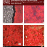 Mechanistic and Computational Study of Cinnabar Phase Transformation:  Application and Implications to the Preservation of this Pigment in Historical Painting (2005-02):