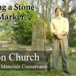 Cleaning a Stone Grave Marker (2007-01):