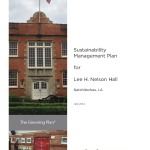 Sustainability Management Plan for Lee H. Nelson Hall (2014-03):