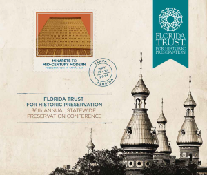 May 15-17, 2014 Conference Florida Trust for Historic Preservation