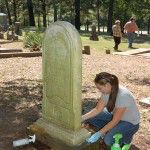 Cemetery Preservation Basics Workshop in Hot Springs Arkansas: