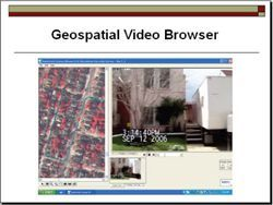Geospatial Video Browser