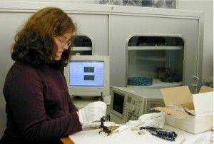 Blythe McCarthy investigated eddy currents in conservation science in an NCPTT grant in 1999.