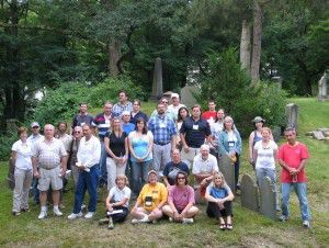 Cemetery Landscape Preservation Workshop participants