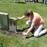 NCPTT Held Cemetery Conservation Basics in Morris, IL