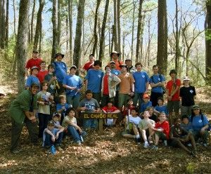Boy Scout Troop 265 on the Trail