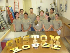 Essex NHA sponsors youth jobs at Salem Maritime National Historic Site and Saugus Iron Works National Historic Site.