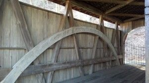 Feedwire Road Bridge (1870), a Smith truss with arch, will be visited on the Dayton Aviation Tour.
