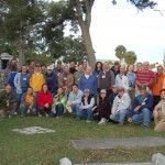 Group Photo of the 2007 Cemetery Monument Conservation Workshop. Photo: Mary Striegel,