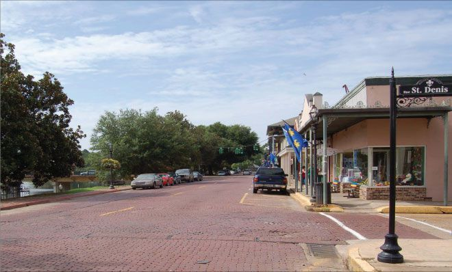 Front Street , Natchitoches, Lousiana