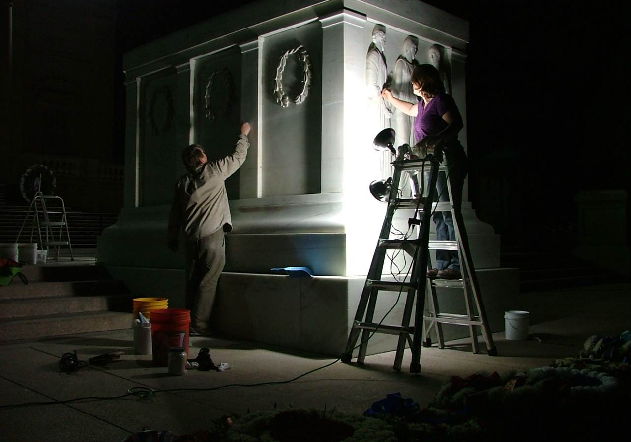 Treatment of the Tomb of the Unknowns